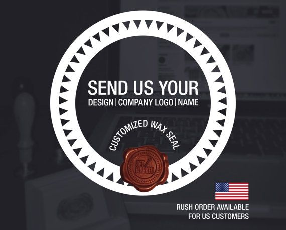 Customized Wax Seal Stamp (WS0331)