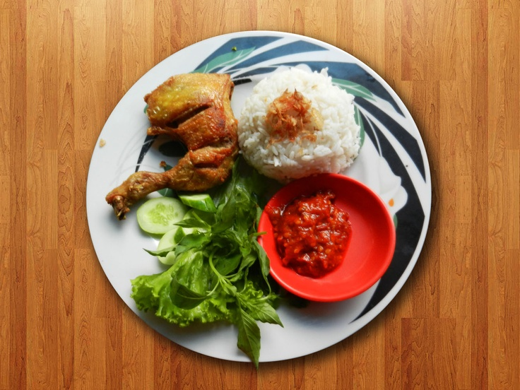Indonesian Fried Chicken: my favorite food