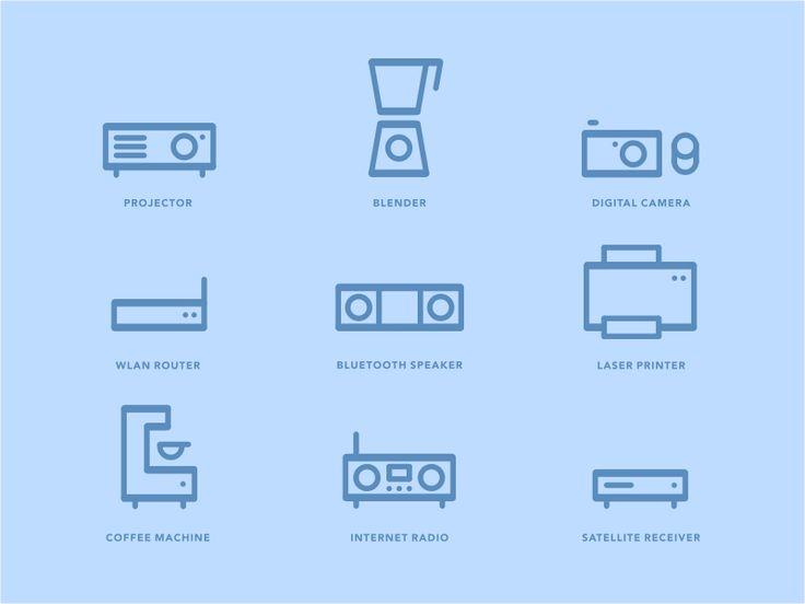 Dribbble - Pro Web Icons by Alen Type08 Pavlovic
