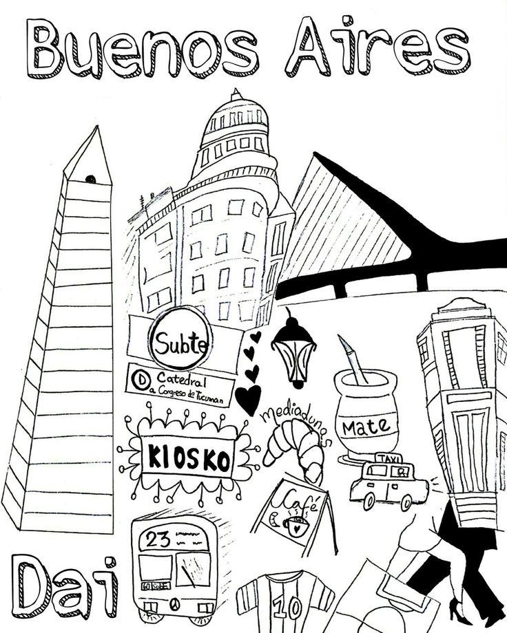 Buenos Aires - Argentina  Instagram: BAinGray #Tango #Ilustracion #Messi #Futbol #Mate #Medialunas #Obelisco #CasaRosada #TeatroColon #Caminito #Laboca #PuertoMadero #puentedelamujer #LaCiudaddelafuria