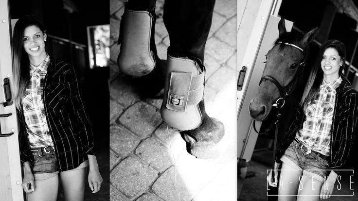 horses#sopot#Roxana#hipodrom#jeans#denim#saddle#shirt#la sense#session#