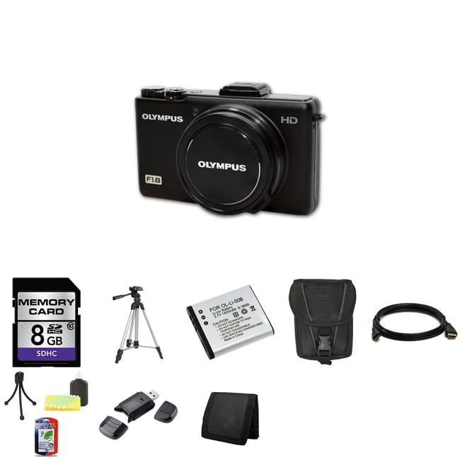 Olympus XZ-1 10MP Digital Camera with 8GB Bundle