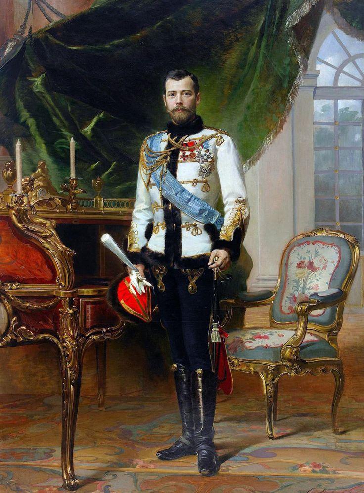 For The Duke of Paris — hotguysinart:   Tsar Nicholas II    Follow The...