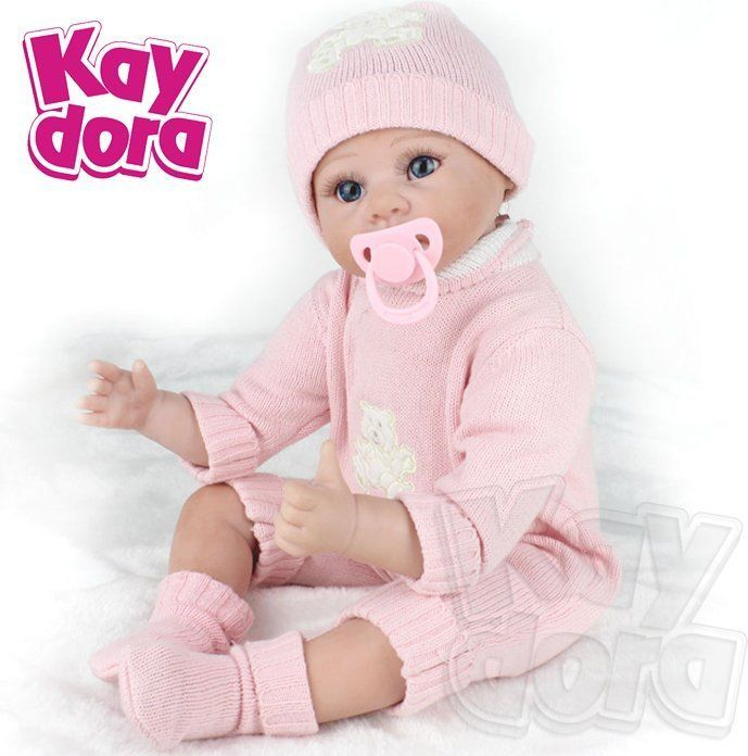 "HANDMADE REBORN DOLLS BABY REALISTIC NEWBORN BABY DOLLS LIFELIKE KIDS GIFT 22"" | Giocattoli e modellismo, Bambole e accessori, Bambole artigianali | eBay!"