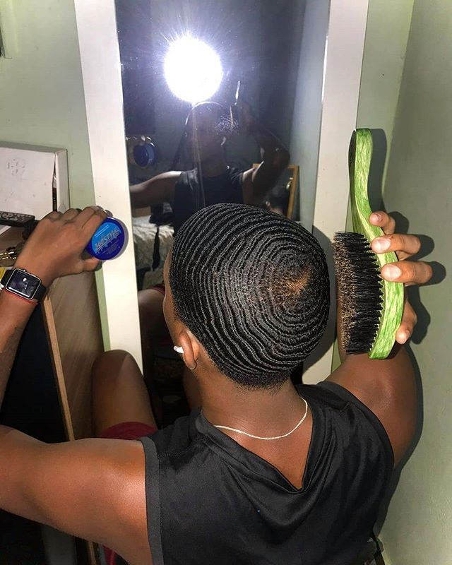 360 Waves Products 360 Wave Pomade 360 Wave Grease Curl Enhancer And Durag Loving The Progress Hair Beauty Skin Waves Haircut Hair Waves 360 Waves Hair
