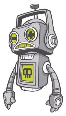 Robot - by Melbourne illustrator Scott Bartlett (aka cronobreaker on deviantart)