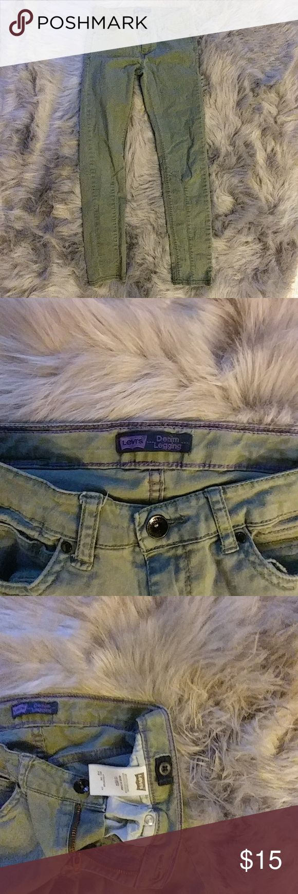 Levis Denim Leggins Levis Denim Leggins Levi's Bottoms Jeans