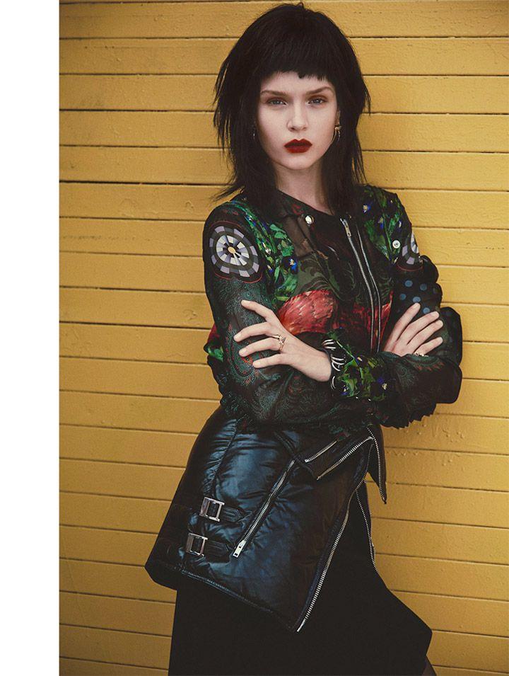 josephine skriver model11 Josephine Skriver Oozes Attitude for Harpers Bazaar Latin America by Hans Neumann
