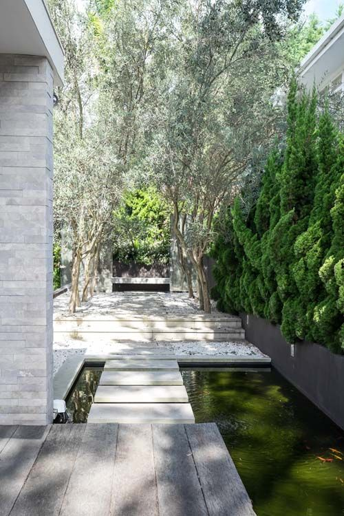 Beautiful zen Japanese garden | At home with Kelly and Rodney | Home Ideas magazine