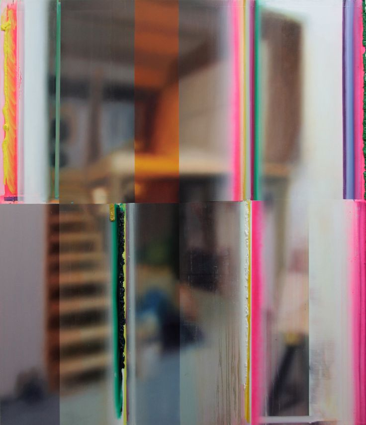 Studio D – oil on canvas, 193 x 152cm, 2010, Dil Hildebrand #DilHildebrand