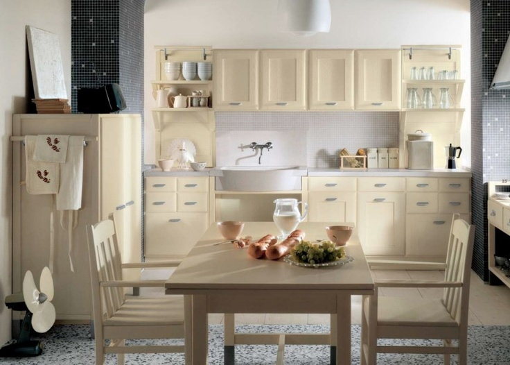 19 stunning country style kitchen decorations beautiful minacciolo country italian kitchen decor with creamy kitchen cabinet and mosaic tiles backsplash