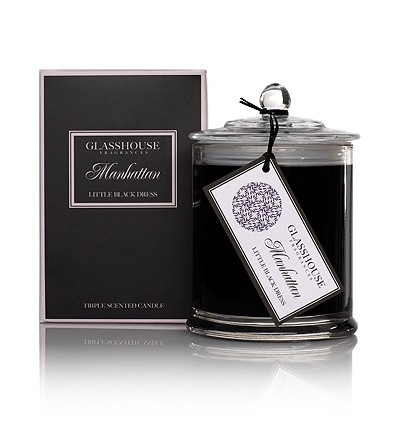 Glasshouse candles spread throughout your house make it smell delicious....