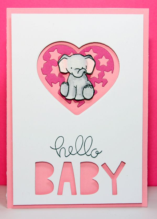 W+9 stamp Unforgettable, Hello is from Simon Says Stamp Hello friends set, Baby dies are from Lawn Fawn Finley's abc, the heart die and inlaid heart are from the classic christmas collection calles star filled heart by Amy design