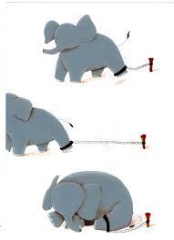 Resultado de imagen para el elefante encadenado