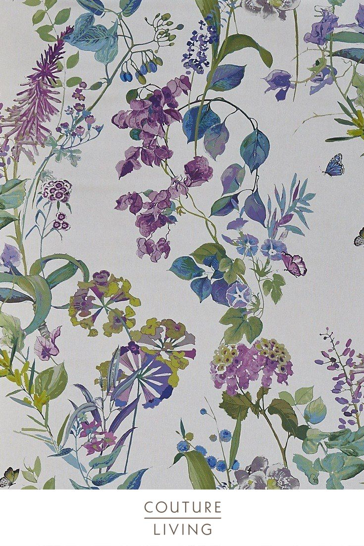 Bougainvillea In 2020 Floral Curtains Fabric Lounge Decor