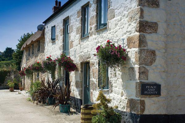 Cornwall.  Award winning holiday cottage near Penzance near the beach.  Cream tea included!