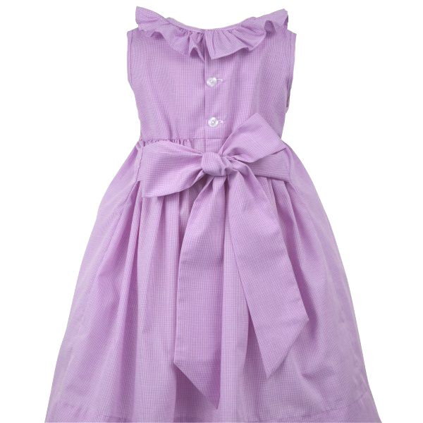 Remember Nguyen lavender checked smocked dress with yellow rosebuds,lavender checked smocked dress for baby girls,lavender checked smocked dress for toddler girls,lavender checked smocked dress for little girls,matching sisters dresses,baby girls smocked Easter dress,toddler girls smocked Easter dress,little girls smocked Easter dress,matching sisters Easter dress,Matching Easter dresses for sisters