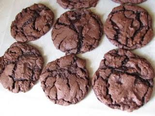 Lazy Chocolate Caramel Cookies