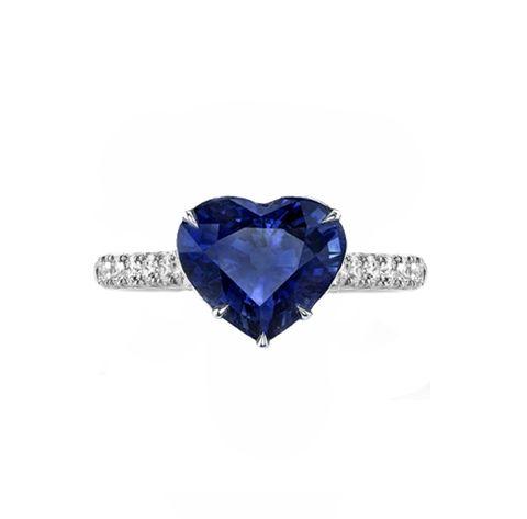 SAPPHIRE - DIAMONDS Ring by MR