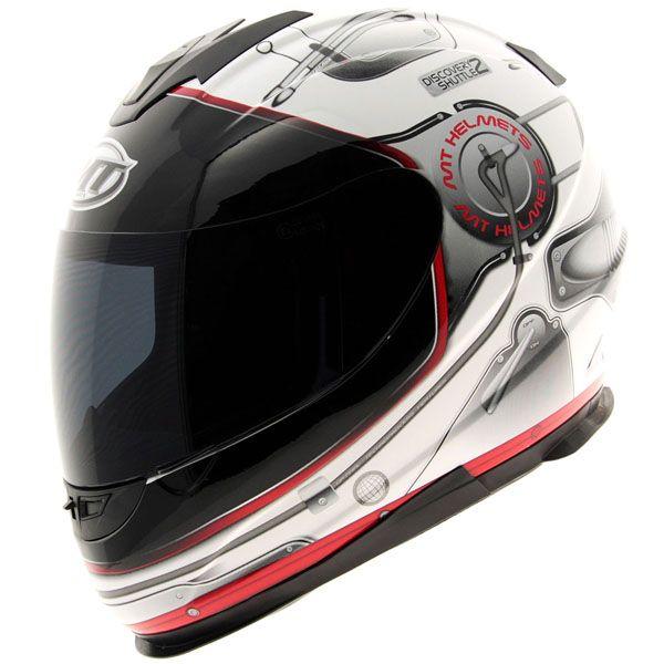MT Thunder Lightning Stratosphere - White Cheap Motorcycle Helmet | eBay