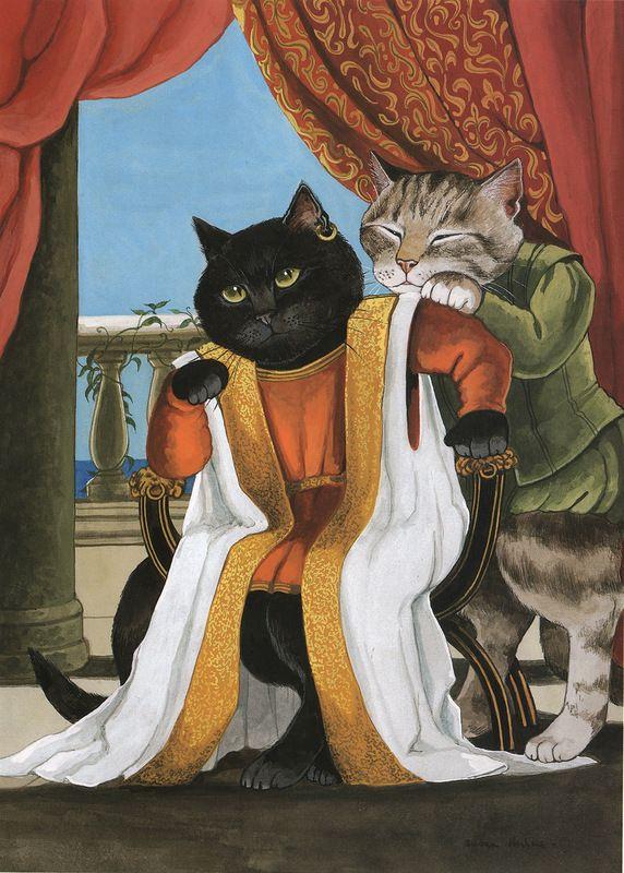 картинки с котами как люди будьте