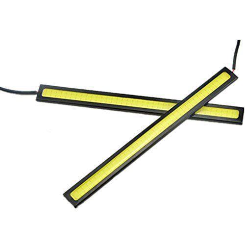 Scoolr étanche 17cm COB 4couleurs lumières LED de voiture 12V pour DRL Ampoule de brouillard Conduite lampe: Spécifications: Puissance…
