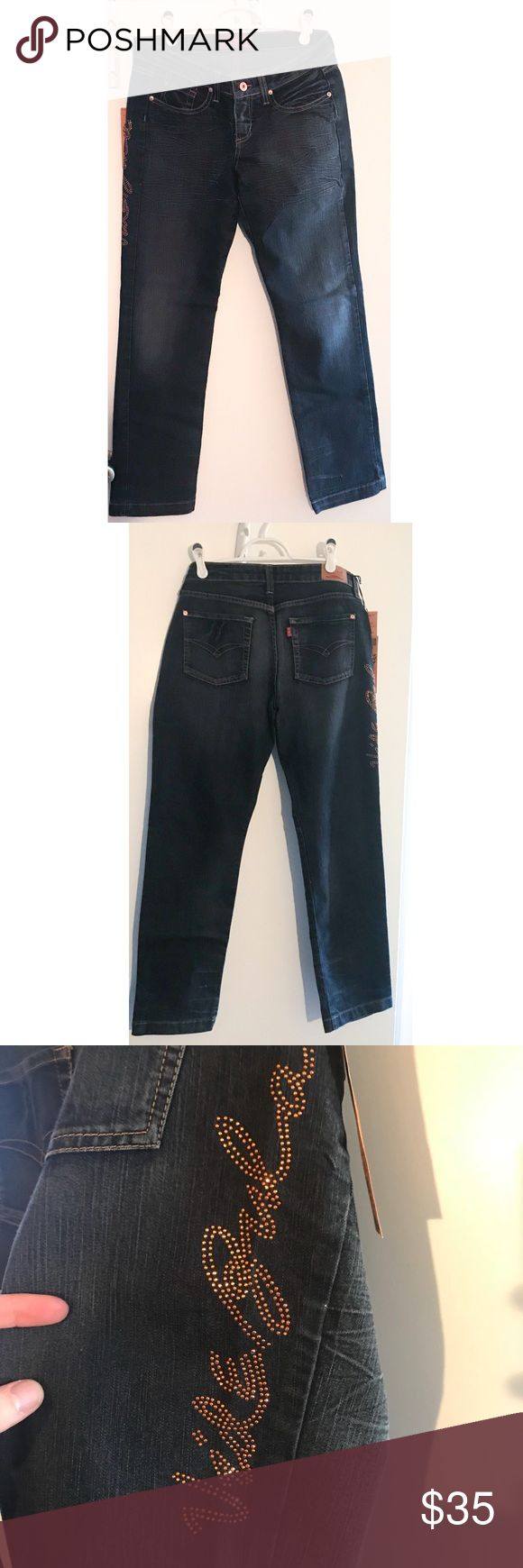 NWT Vide Bula Jeans This Vide Bula Jeans are fabulous! Straight leg fit, dark charcoal color, fading style, copper metallic vide bula Design on side, size 32, runs small (high end Brazilian brand), brand new with tags. Bundle deal: buy 2 or more items from my closet & save 10% vide bula Jeans Straight Leg