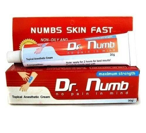 Dr.Numb Cream - #1 Most Recommended Numbing Cream For ...