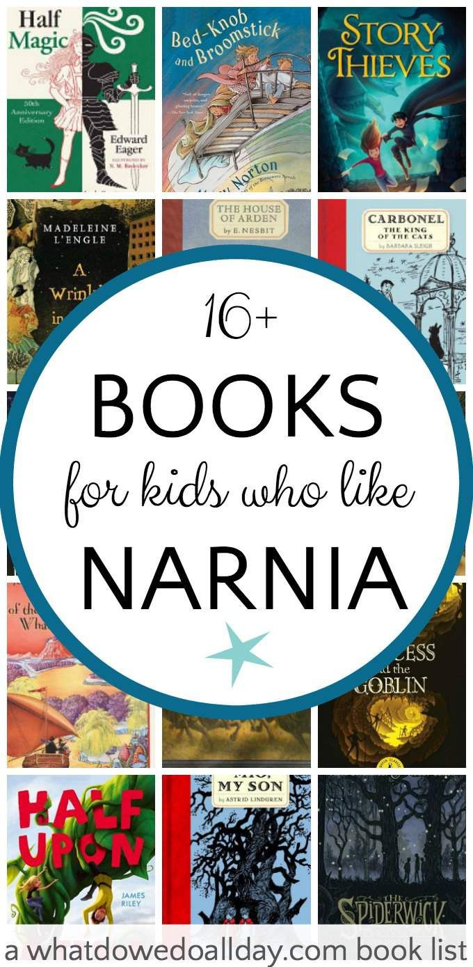 A list of books for kids who like The Chronicle of Narnia series.
