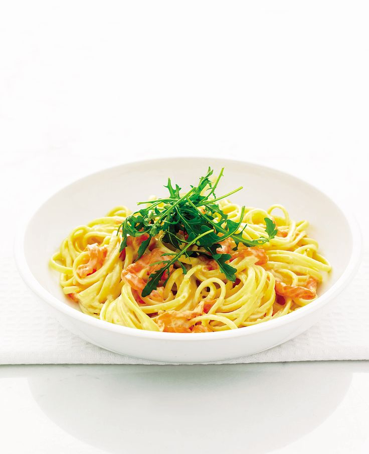 One of the quickest and easiest recipes you'll ever make – this smoked salmon pasta recipe is also filled with fresh flavours of lemon, and salty parmesan.
