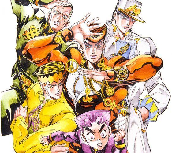 Image result for jojo's bizarre adventure characters