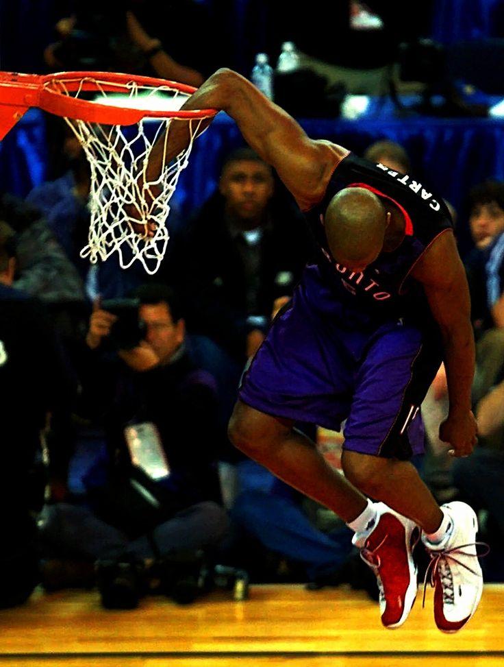 Vince Carter Toronto Raptors Slam Dunk Contest