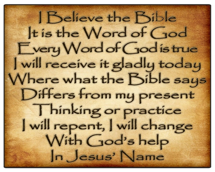 The very Word of God!