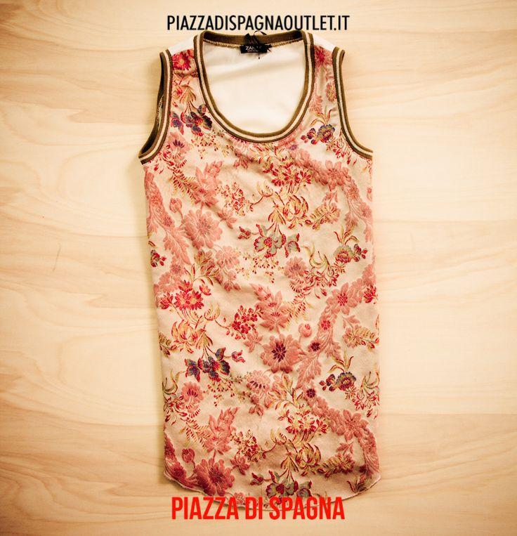 #maglia #fiori #ricamo #piazzadispagnaoutlet