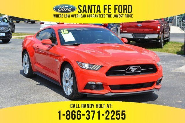 Used 2015 Ford Mustang Gt Premium Rwd Coupe For Sale Gainesville Fl 39505q Ford Mustang Ford Mustang Gt Ford Mustang Ecoboost
