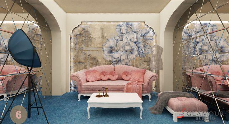 Glamour Studio Videochat Bucuresti - Mirror Room