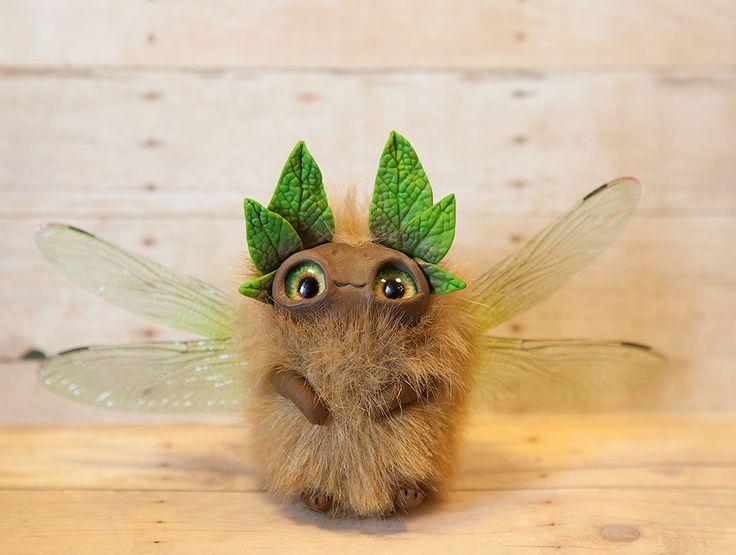 Spring flying sleepyhead by Furrykami-creatures on DeviantArt