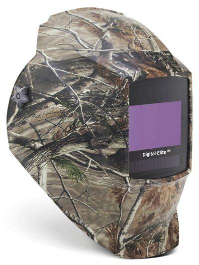 Miller Welding Helmet - Camouflage Digital Elite Lens 256173