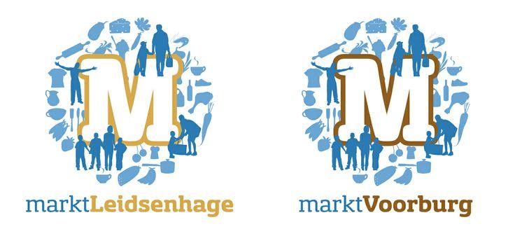 Logo voor de markt in Leidschendam en Voorburg. In samenwerking met Marcel Jansen van Strøm Creative Marketing.