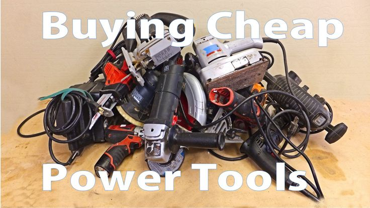 Buying Cheap Power Tools: Beginners Woodworking #14