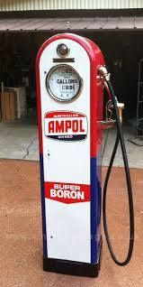 Ampol Petrol was Australian company in the 1950's60's70's80's. v@e