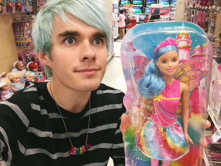 I think Geoff and Otto need to stop letting Awsten in the toy section, especially the Barbie section