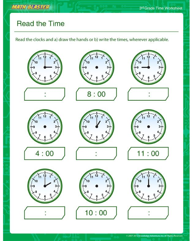 The Best free printable 3rd grade math worksheets ...