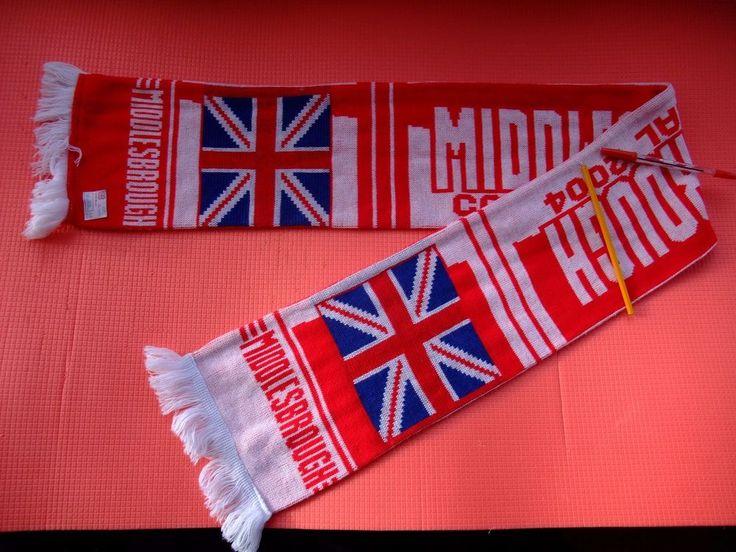 Middlesbrough F.C.Cardiff Final 2004 scarf 100% acryl