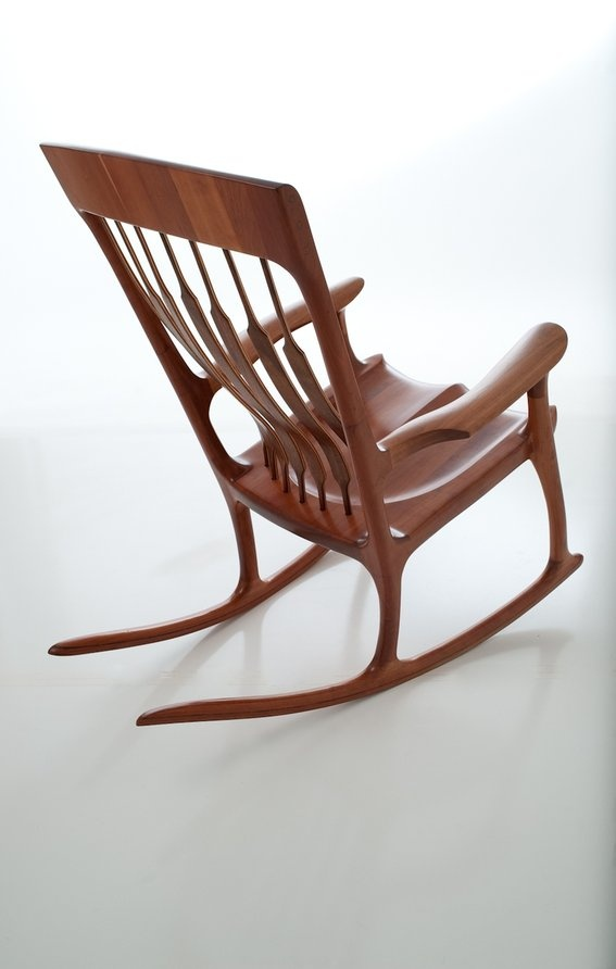 Made Rocking Chair  Furniture  Pinterest  Rocking chairs, Chairs ...