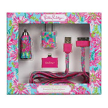 Lilly Pulitzer Trippin & Sippin Charging Kit | Dillards.com
