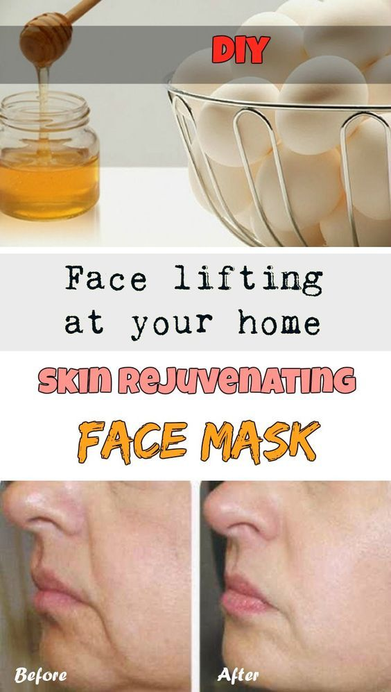 Face lifting at your home: Skin rejuvenating face mask