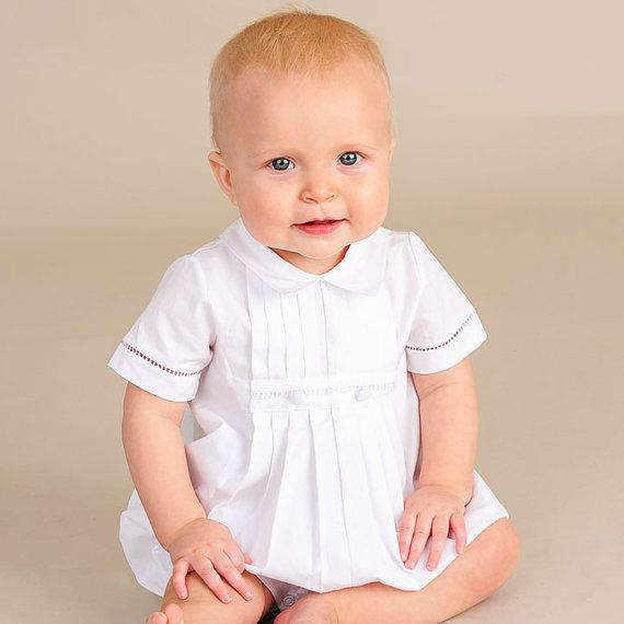 17 Best Images About Christening Romper Outfits Boys On