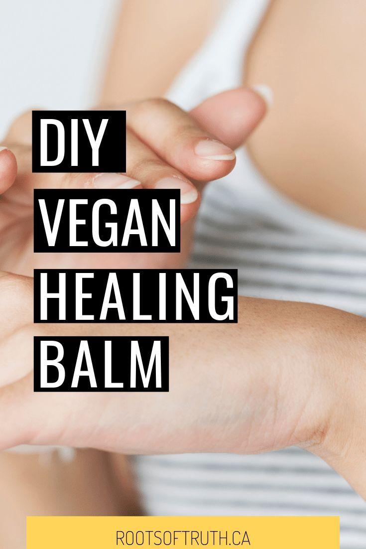 DIY VEGAN HEALING BALM- use it for diaper rashes, scrapes and cuts, hair conditi…
