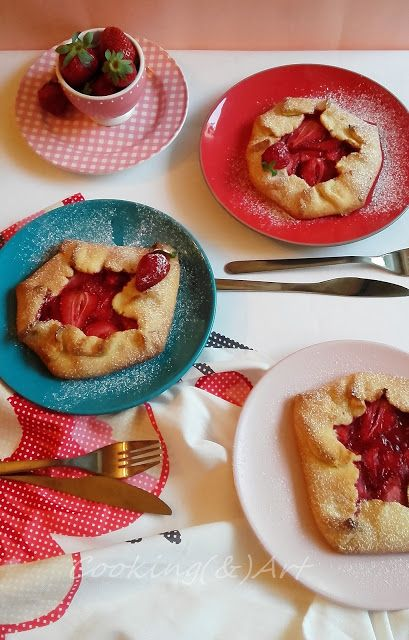 Strawberry Galette / Cooking(&)Art